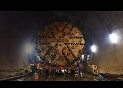 Enlace a Así funcionan las máquinas tuneladoras