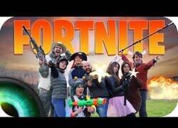 Enlace a Tipos de personas jugando a Fortnite