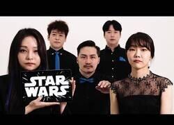 Enlace a Interpretando la banda sonora de Star Wars acapella