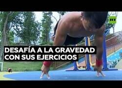 Enlace a El deportista que desafía las leyes de la gravedad