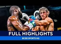 Enlace a Los mejores momentos del combate entre Floyd Mayweather y Logan Paul
