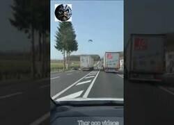 Enlace a Conductor de camión kamikaze