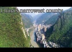 Enlace a Yanjin, la ciudad más estrecha del mundo