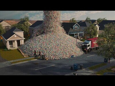 El impacto de las botellas de plástico que producimos