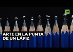 Enlace a Arte en la punta de un lápiz