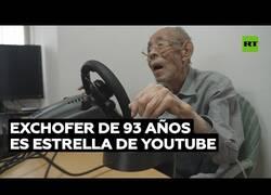 Enlace a Exchófer de 93 años se convierte en youtuber