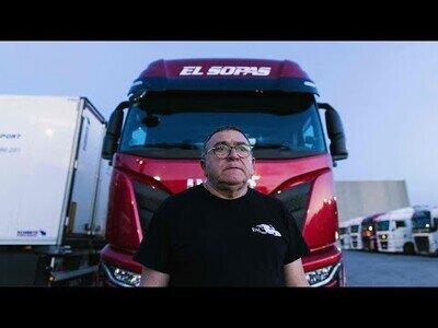 Así es la dura vida de un camionero en España