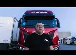Enlace a Así es la dura vida de un camionero en España
