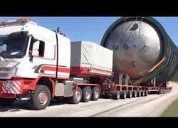 Enlace a Transporte de carga sobredimensionada en camiones especiales