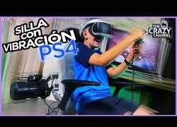 Enlace a Jugando en una silla con sensor de vibración