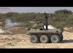 Enlace a Jaguar, el robot que patrulla la franja de Gaza