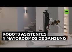 Enlace a Los nuevos robots-mayordomo de Samsung