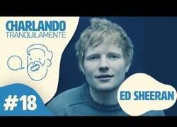 Enlace a Ibai charla tranquilamente con Ed Sheeran