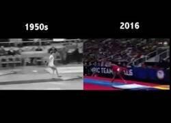 Enlace a Las notorias diferencias entre las Olimpiadas actuales con las de hace 70 años