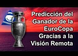Enlace a El hombre que predijo hace un mes el resultado final de la Eurocopa gracias a la Visión Remota