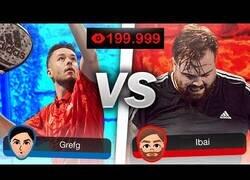 Enlace a TheGrefg vs Ibai: El partido de pádel más visto de la historia