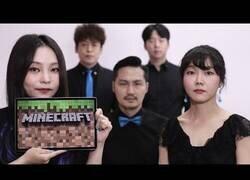 Enlace a Interpretando la banda sonora de Minecraft acapella