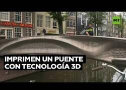 Enlace a El primer puente hecho con tecnología 3D del mundo