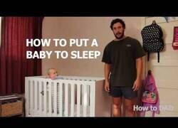 Enlace a Cómo hacer dormir a un bebé