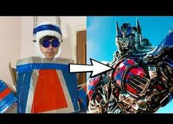 Enlace a Si la película Transformers hubiera tenido bajo presupuesto