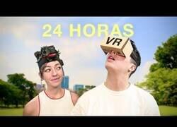 Enlace a Viviendo 24h en realidad virtual