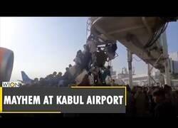Enlace a Aeropuerto de Kabul, hoy