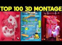 Enlace a 100 montajes hechos por artistas 3D que te van a dejar con la boca abierta