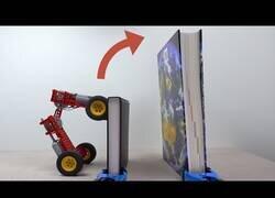 Enlace a Construyendo un coche con LEGO que se salta todos los obstáculos
