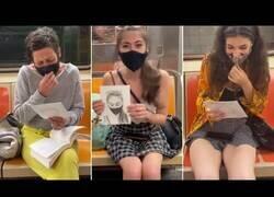Enlace a Dibujar retratos de extraños en el metro de Nueva York
