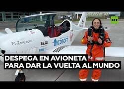 Enlace a La piloto que quiere ser la más joven en dar la vuelta al mundo