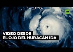 Enlace a Graban un vídeo desde el interior del ojo de un huracán