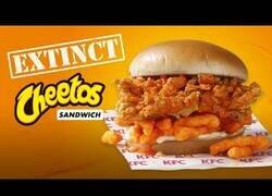 Enlace a ¿Una hamburguesa de Cheetos?