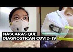 Enlace a Inventan mascarillas que diagnostican el Covid