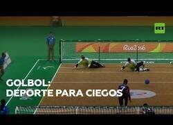 Enlace a Golbol: El deporte para ciegos