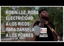 Enlace a Robin Luz, el justiciero de la electricidad