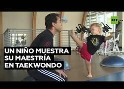 Enlace a Un maestro del taekwondo con 21 meses