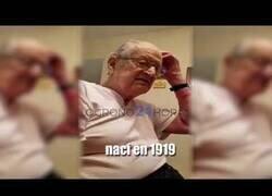 Enlace a La reacción de este anciano al conocer su edad