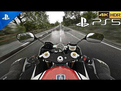 Los increíbles gráficos de RIDE 4 para PS5