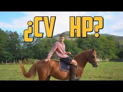 ¿Cuántos caballos de potencia tiene un caballo?