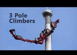 Enlace a Máquinas escaladoras hechas con piezas de Lego