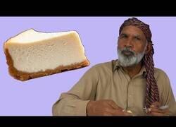 Enlace a Gente tribal prueba la tarta de queso por primera vez