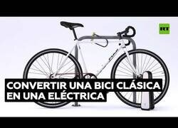 Enlace a El dispositivo que convierte tu bicicleta convencional en una eléctrica