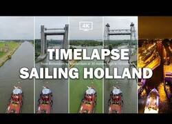 Enlace a Viajando en barco desde Rotterdam hasta Amsterdam en 10 minutos