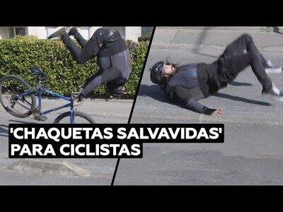 La chaqueta salvavidas para ciclistas