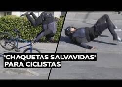 Enlace a La chaqueta salvavidas para ciclistas