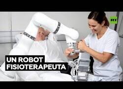 Enlace a El robot que ayuda a pacientes con su rehabilitación