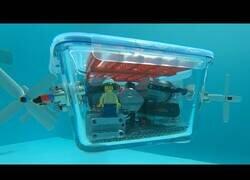 Enlace a Construyendo un submarino de Lego