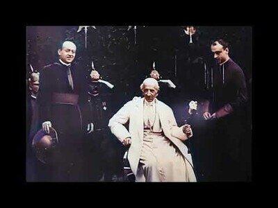 Imágenes del papa Leo XIII, nacido en 1810, es la persona más antigua jamás filmada