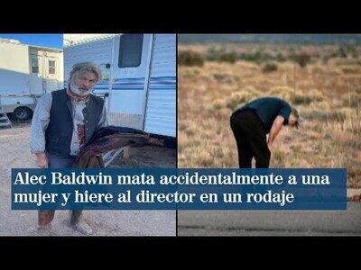 Alec Baldwin mata a una mujer accidentalmente durante el rodaje de una película