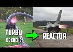 Enlace a Fabricando un reactor a partir del turbo de un coche